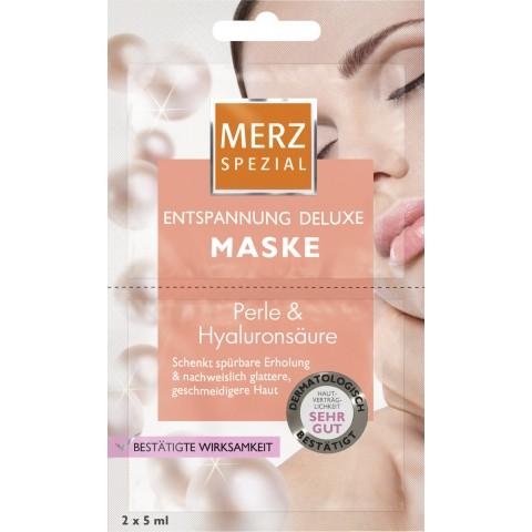 Merz Spezial Entspannung Deluxe Maske 2x 5 ml