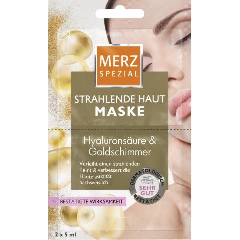 Merz Spezial Strahlende Haut Maske 2x 5 ml