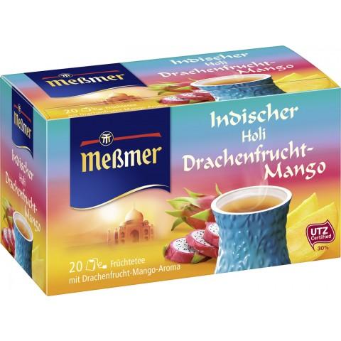 Meßmer Tee Indischer Holi Drachenfrucht-Mango