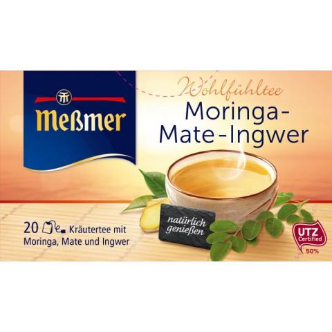 Meßmer Wohlfühltee Moringa-Mate-Ingwer