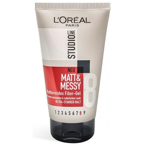 L'Oreal Studio Line Matt & Messy - Stärke 8