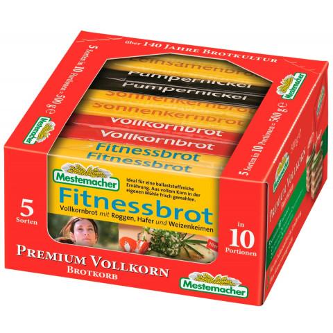 Mestemacher Premium Vollkorn Brotkörbchen 500 g
