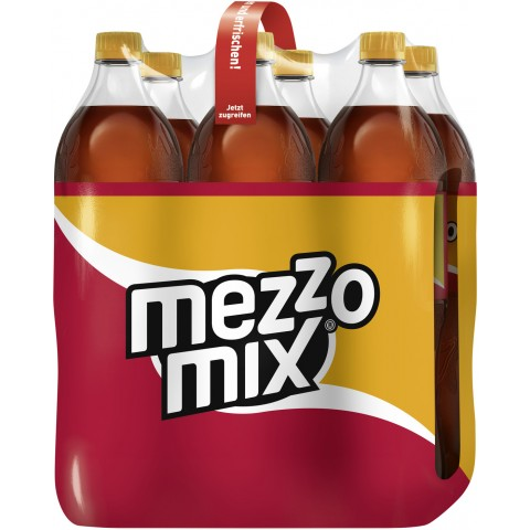 Mezzo Mix Orange PET 6x 1,25 ltr