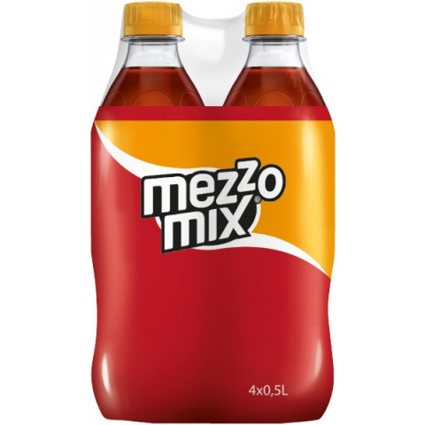 Mezzo Mix Orange 4x 0,5 ltr PET