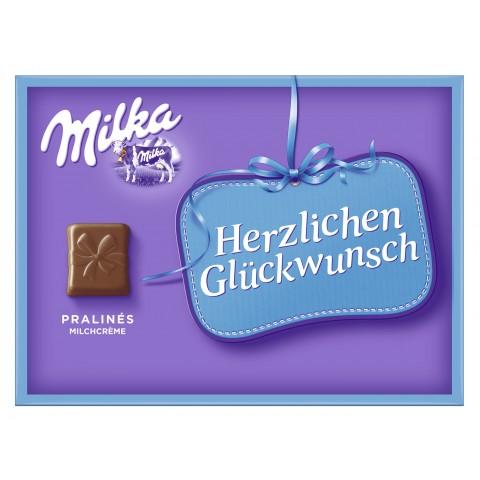 Milka Herzlichen Glückwunsch Pralinés