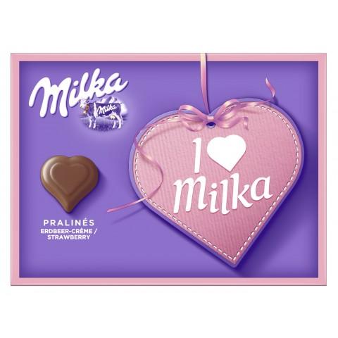 Milka I Love Milka Erdbeer-Creme