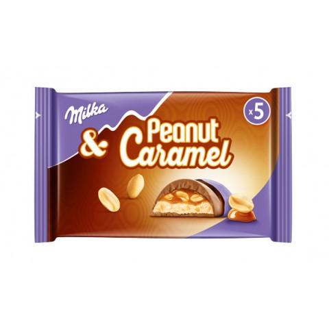Milka & Peanut Caramel Riegel