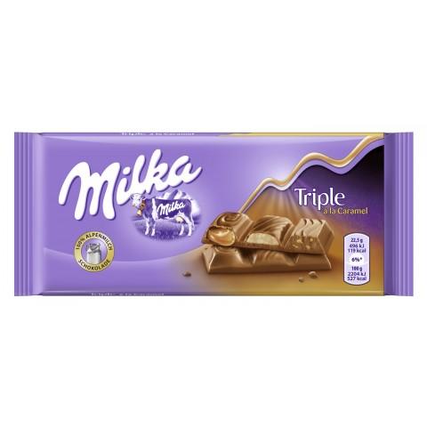 Milka Triple à la Caramel Schokolade