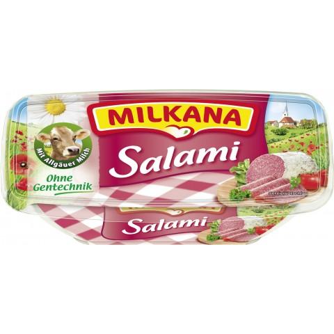 Milkana Frischeschale Salami 50% Fett i.Tr. 200 g