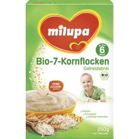 milupa Bio 7 Korn Flocken ab 6. Monat