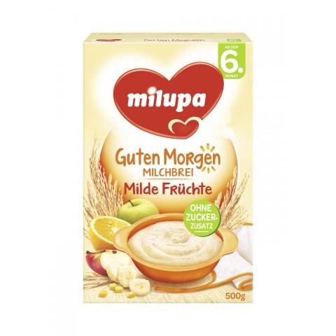 milupa Guten Morgen Milchbrei Milde Früchte ab dem 6. Monat