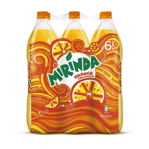 Pepsi Mirinda Sixpack in PET