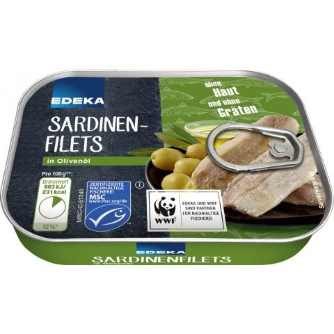 EDEKA Sardinen in Olivenöl 100 g