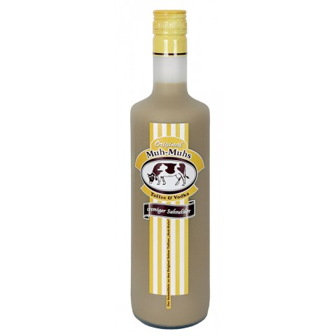 Original Muh-Muhs Toffee & Vodka Likör 0,7 ltr