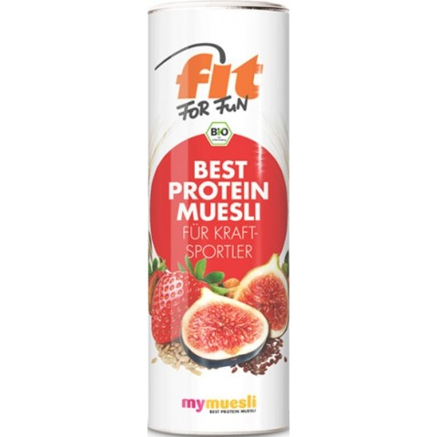 mymuesli Bio Fit for Fun Best Protein Müsli
