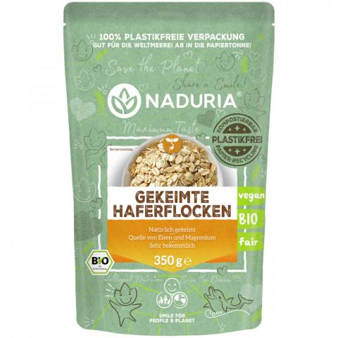 Naduria Bio Gekeimte Haferflocken 350 g