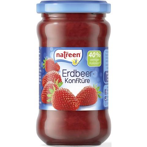 Natreen Erdbeer-Konfitüre 225 g