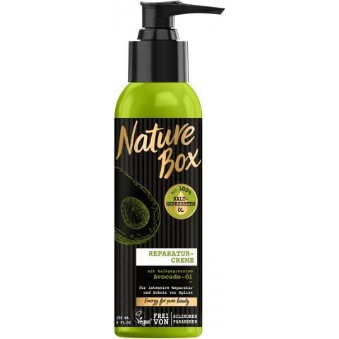 Nature Box Reparaturcreme mit kaltgepresstem Avocadoöl