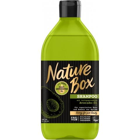 Nature Box Shampoo mit kaltgepresstem Avocado-Öl 0,385 ltr