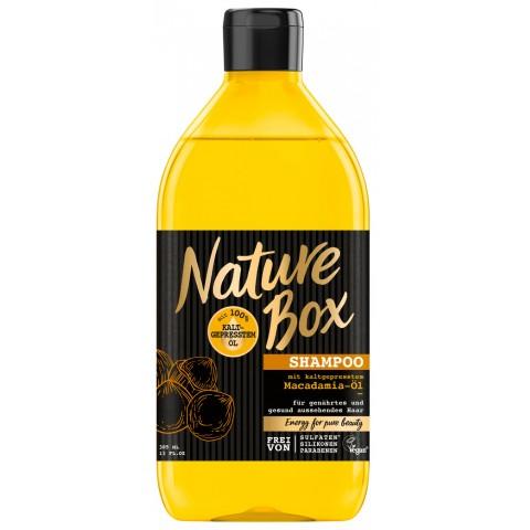 Nature Box Shampoo mit kaltgepresstem Macadamia-Öl 0,385 ltr