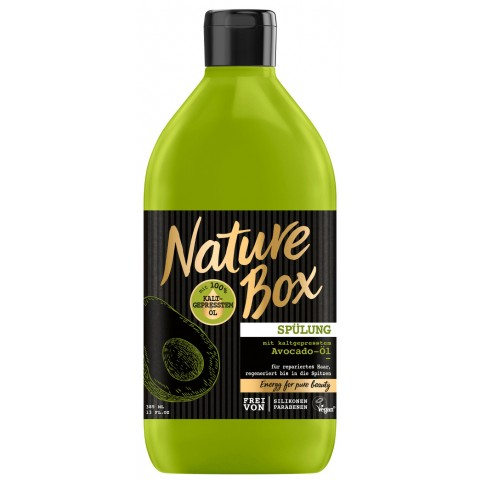 Nature Box Spülung mit kaltgepresstem Avocadoöl