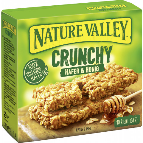 Nature Valley Crunchy Hafer & Honig Riegel 5x 42 g