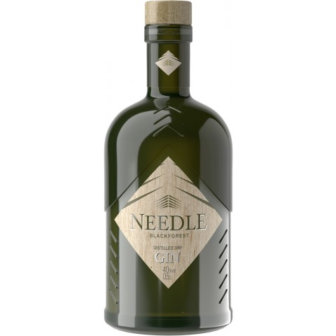 NEEDLE Blackforest Distilled Dry Gin 0,5 ltr