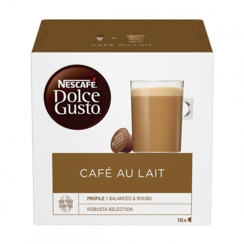 Nescafé Dolce Gusto Café au Lait Kapseln 16x10g