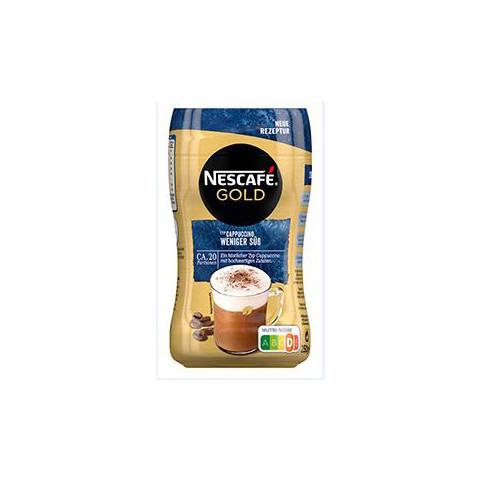 Nescafé Gold Typ Cappuccino Weniger Süß 250G
