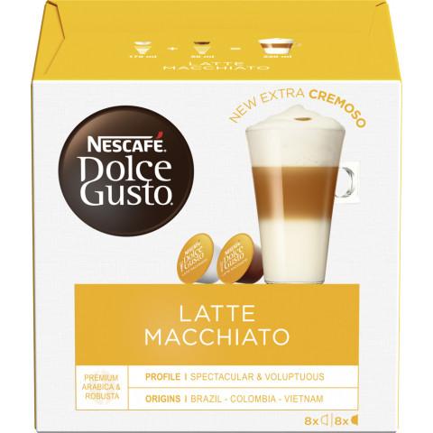 Nescafé Dolce Gusto Kapseln Latte Macchiato 8x 17,4G + 5,5G