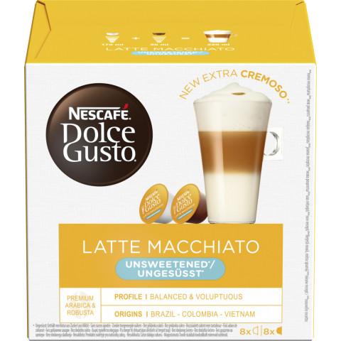 Nescafé Dolce Gusto Kapseln Latte Macchiato ungesüsst 8ST 164G