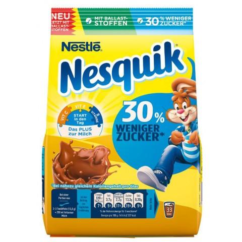 Nestle Nesquik 30% weniger Zucker Nachfüllbeutel 450g