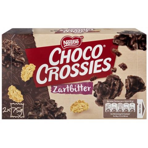 Nestle Choco Crossies Feinherb 2x 75 g