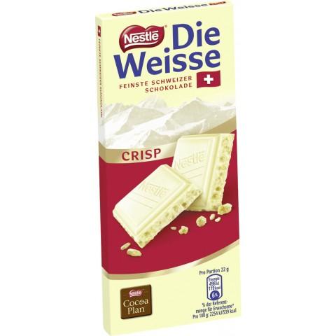 Nestle Die Weisse Crisp Schokolade
