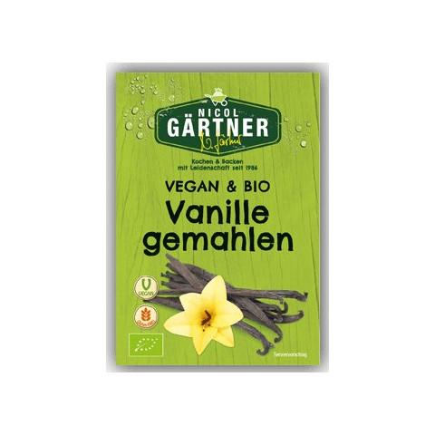 Nicol Gärtner Bio Vanille gemahlen 5 g