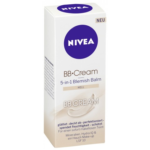 Nivea BB Cream 5 in1 Blemish Balm hell
