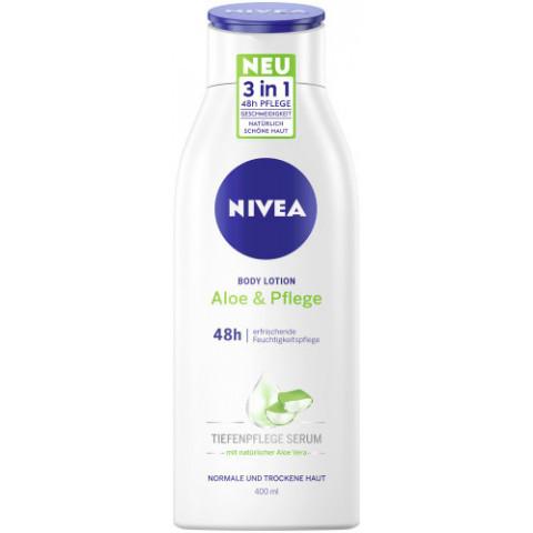 Nivea Body Lotion Aloe & Pflege Tiefenpflege Serum 400ML