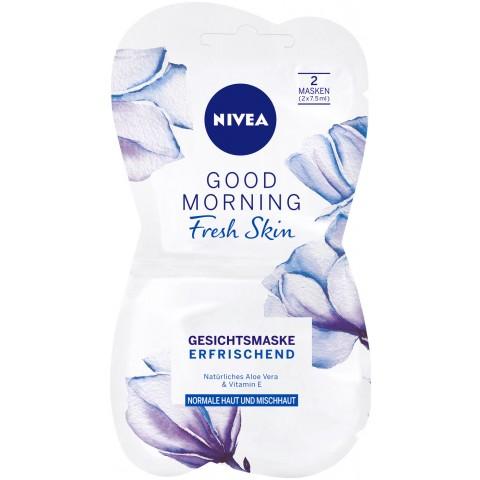 Nivea Good Morning Fresh Skin Gesichtsmaske 2x 7,5 ml