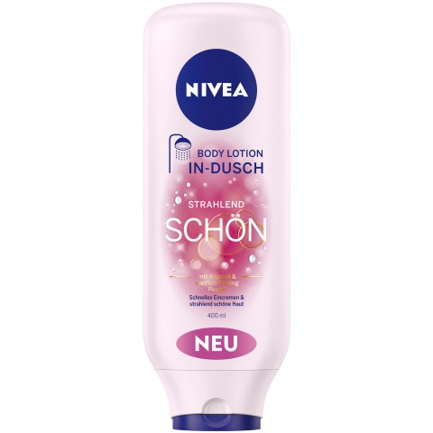 Nivea In-Dusch Body Lotion Strahlend Schön 2 in 1 0,4 ltr