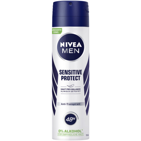 Nivea Men Deospray Sensitive Protect Antitranspirant 150ML