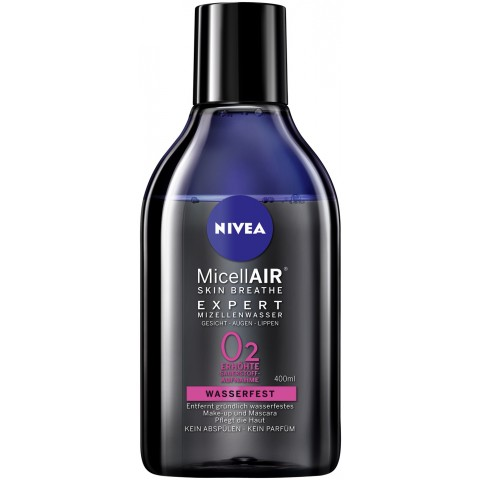 Nivea MizellAIR Skin Breathe Expert Mizellenwasser Wasserfest 400 ml