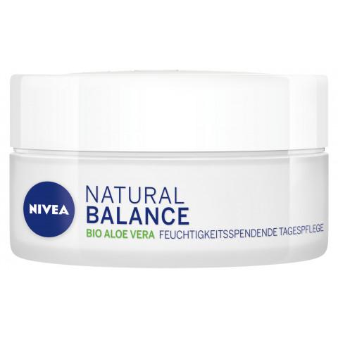 Nivea Natural Balance feuchtigkeitsspendene Tagespflege Normale und Mischhaut 50ML