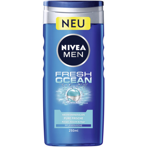 Nivea Men Pflegedusche Fresh Ocean 250ML