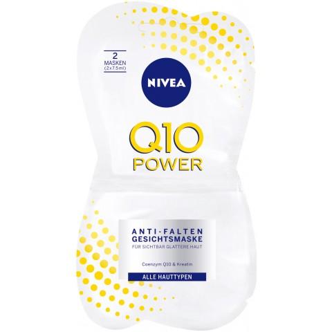 Nivea Q10 Power Anti Falten Gesichtsmaske 2x 7,5 ml