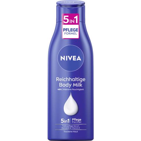 Nivea Reichhaltige Body Milch Tiefenpflege Serum 48h 250ML