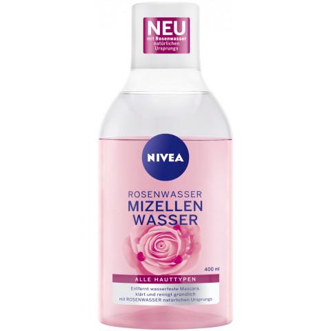 Nivea Rosenwasser Mizellenwasser 400ML