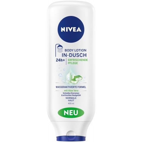 Nivea In-Dusch Body Lotion Erfrischende Pflege 0,4 ltr
