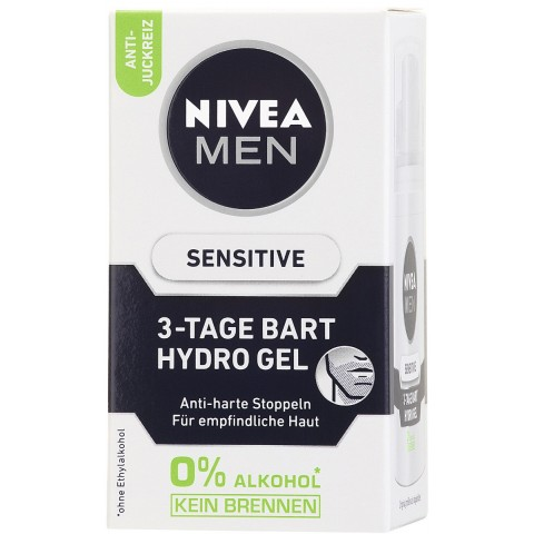 Nivea for Men 3-Tage Bart Hydro Gel Sensitive