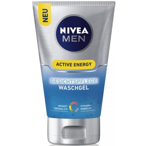 Nivea Men Active Energy Gesichtspflege Waschgel