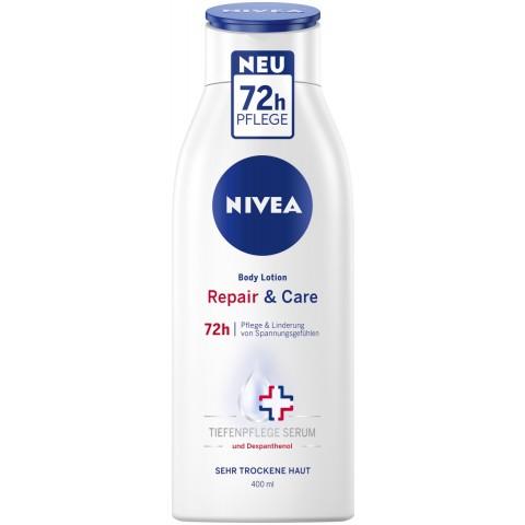 Nivea Body Lotion Repair & Care 0,4 ltr